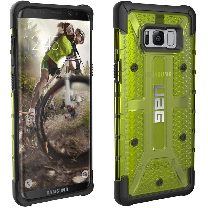 pretty nice c7274 56667 UAG MILITARY ARMOR PLASMA CASE FOR GALAXY S8+ (6.2 inch) - CITRON