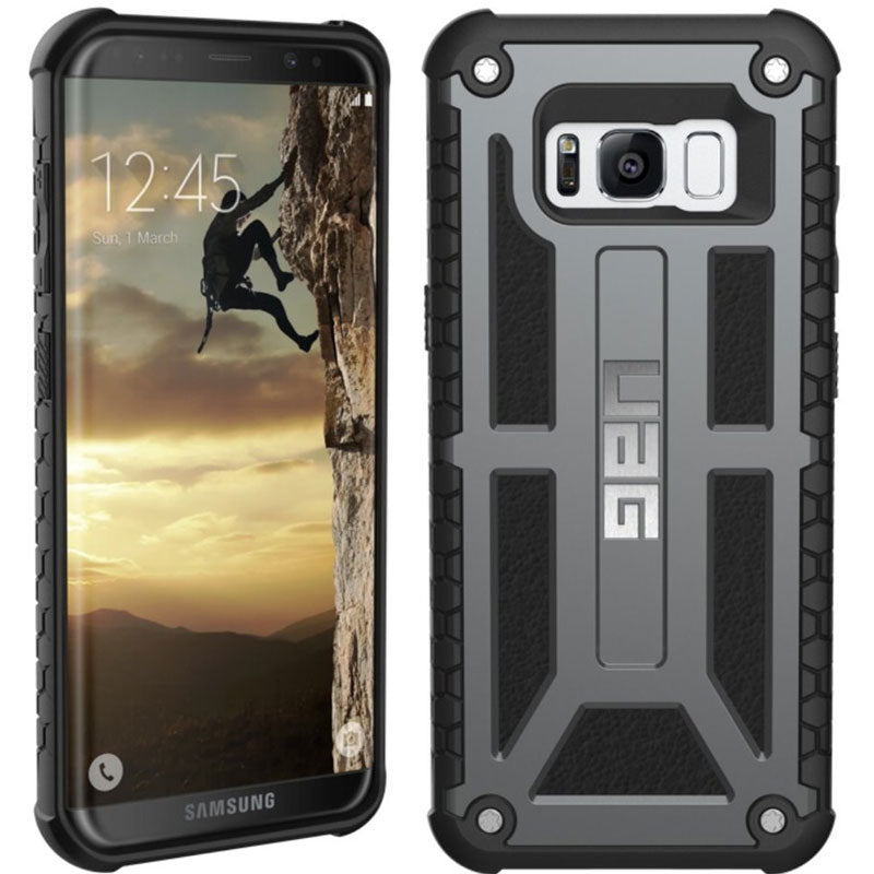 new product 28123 8668d UAG MONARCH HANDCRAFTED ALLOY FRAME CASE GALAXY S8+ (6.2 inch)