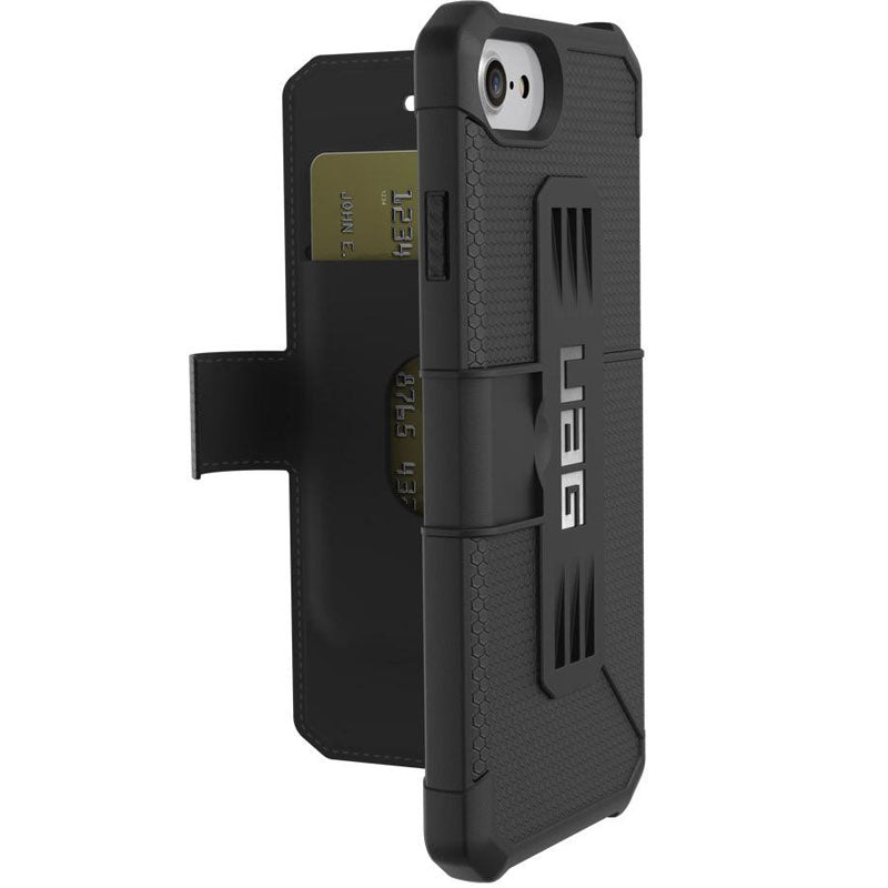 Shop Australia stock UAG Folio Metropolis Feather-Light Rugged Case for iPhone 8/7/6s/6 - Black with free shipping online. Shop UAG collections with afterpay Australia Stock