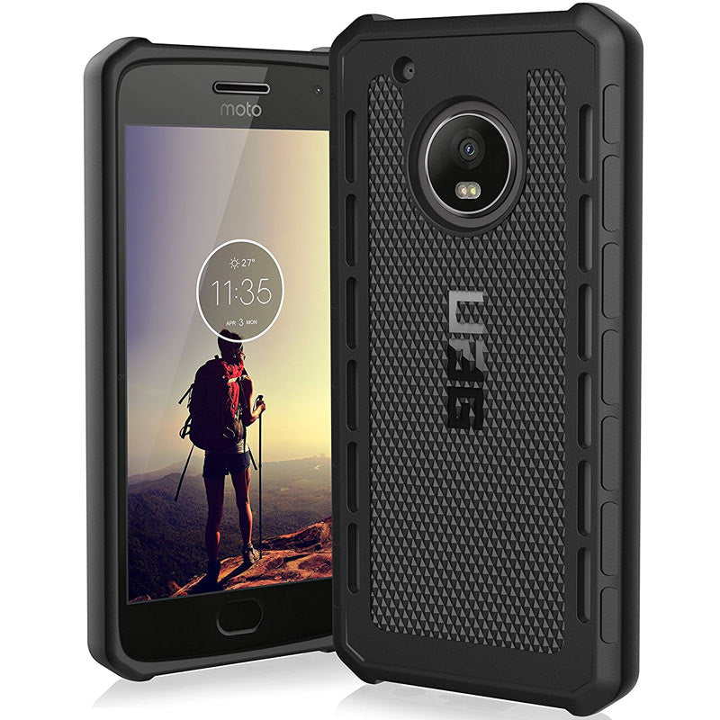 UAG OUTBACK RUGGED CASE FOR MOTO G5 - BLACK Color Australia Stock