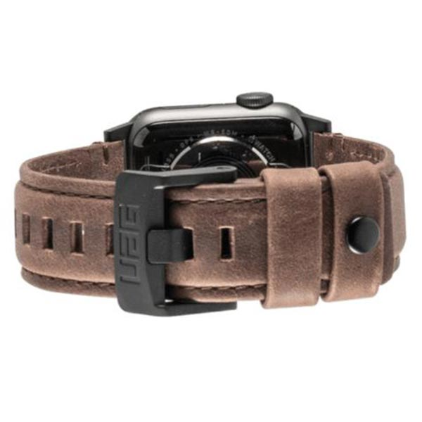 Shop Australia stock UAG LEATHER WATCH STRAP FOR APPLE WATCH 44 mm/42 mm - BROWN with free shipping online. Shop UAG collections with afterpay Australia Stock