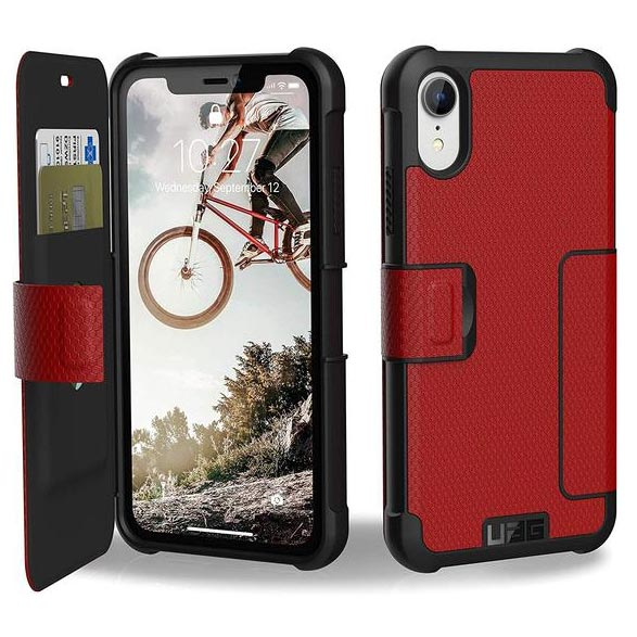 Get the latest stock METROPOLIS CARD FOLIO CASE FOR IPHONE XR - MAGMA from UAG free shipping & afterpay.