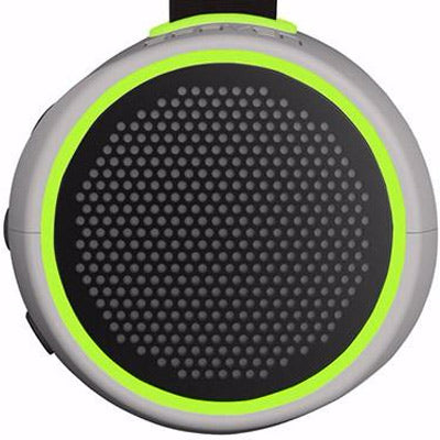 buy online Braven 105 Portable Wireless Compact Speaker [WaterProof] - Silver/Green free shipping australia