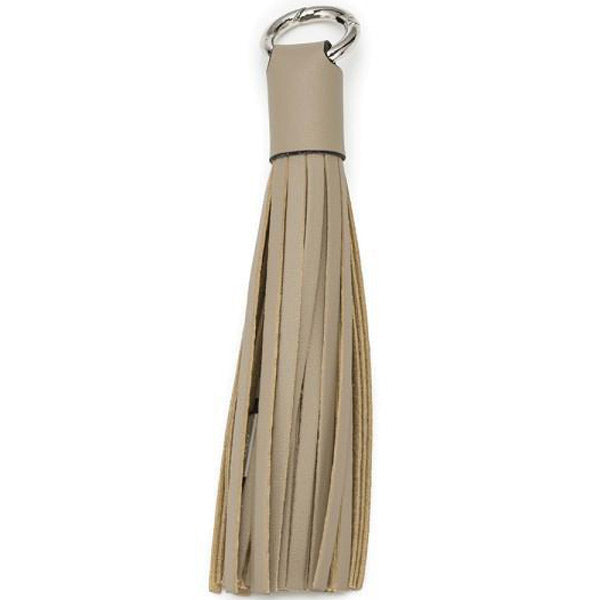 buy cheap Chic Buds Tassel Keyring Charm Cable with Micro USB - Taupe australia