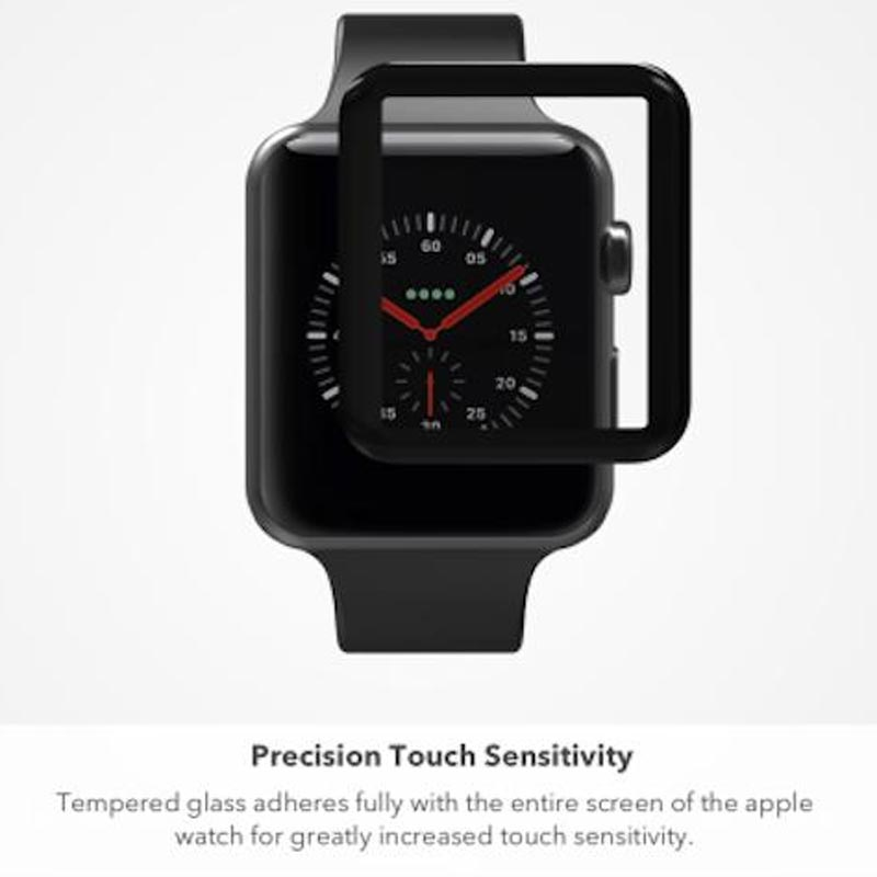 Zagg Invisible Shield Glass Curve Elite Tempered Glass Screen Protector For Apple Watch Series 3 Australia Australia Stock