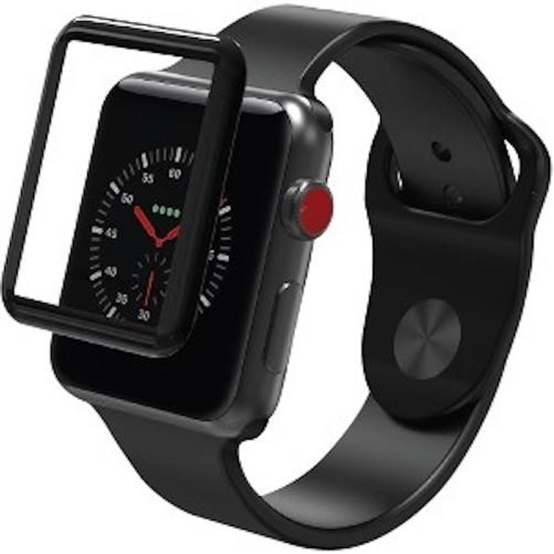 Zagg Invisible Shield Glass Curve Elite Tempered Glass Screen Protector For Apple Watch Series 3 (38mm) Australia Stock