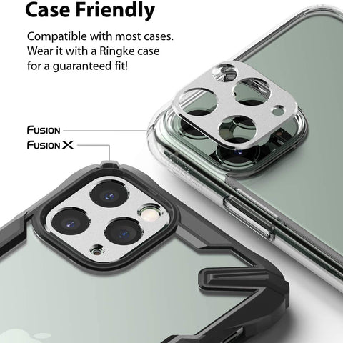 RINGKE Camera Styling Lens Screen Protector For iPhone 11 Pro / 11 Pro Max - Silver