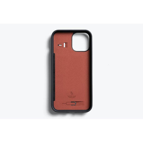 "Get the latest iPhone 12 Pro/12 (6.1"") 3 Card Leather Case From BELLROY - Graphite Online local Australia stock."