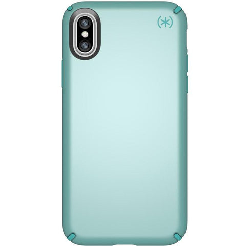 speck presidio metallic case for iphone x -peppermint green/jewel teal colour