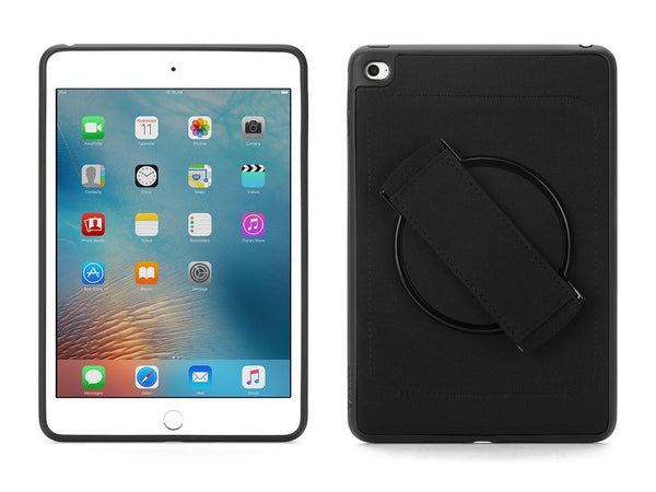 Griffin AirStrap 360 Built-in Rotating Hand Strap Case for iPad mini 4 - Black