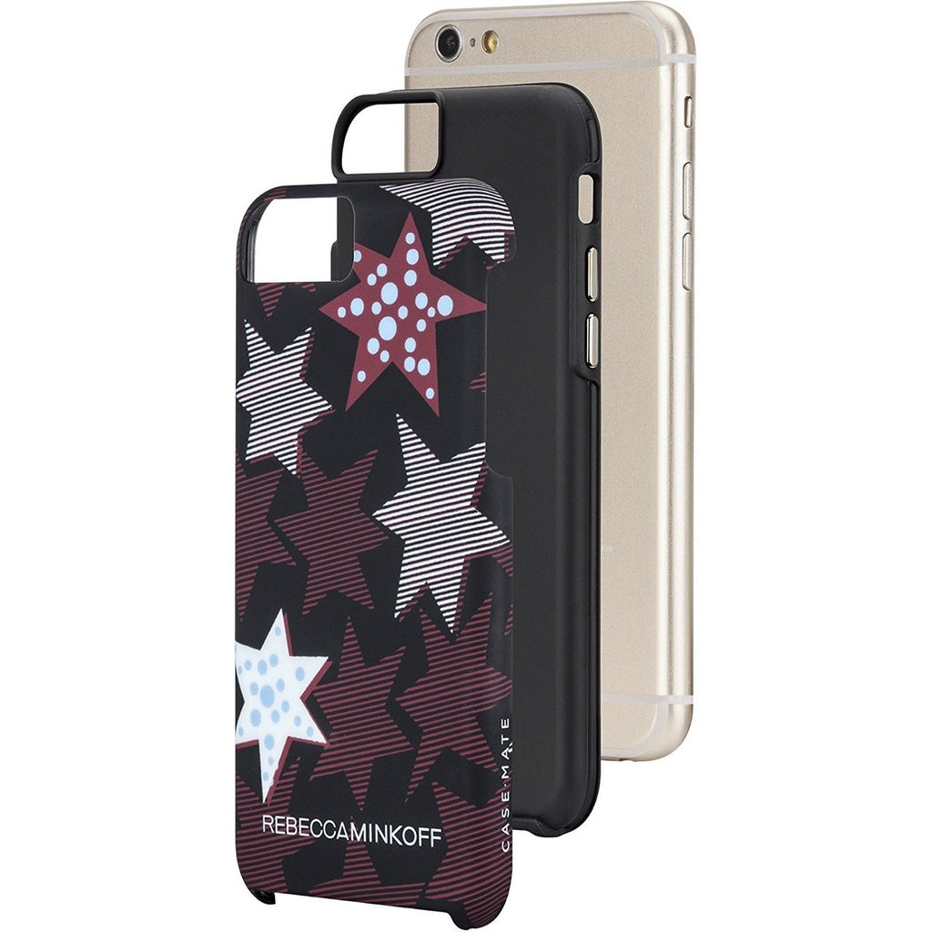 Shop Australia stock CaseMate Rebecca Minkoff Tough Print Case for iPhone 6/6S - Striped Red Stars with free shipping online. Shop Casemate collections with afterpay Australia Stock