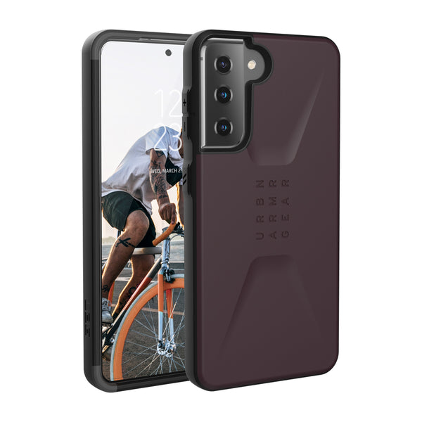 new model from urban armour gear australia, the civilian purple for samsung s21 plus. Great case with new back design and cleaner look.