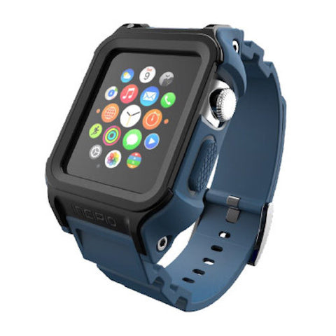 Incipio Octane Military-Graded Band for Apple Watch 38mm (Series 1)- Slate/Black