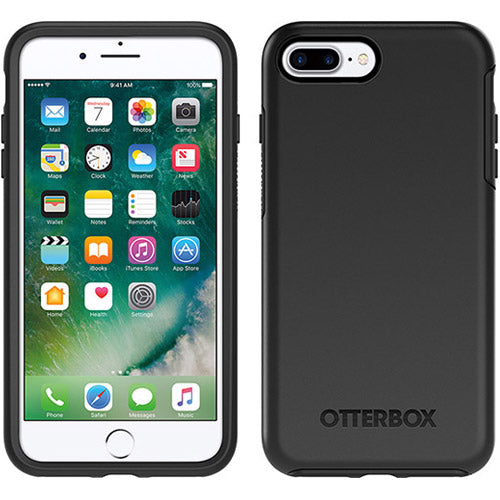 where to buy genuine and original OtterBox Symmetry Sleek Stylish Case for iPhone 8 Plus/7 Plus - Black. Free shipping express Australia from Authorized distributor.