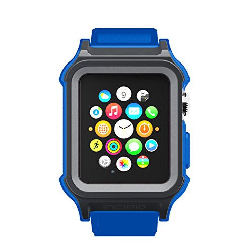 Shop Australia stock Incipio Octane Military-Graded Band for Apple Watch 38mm (Series 1) - Grey/Blue with free shipping online. Shop Incipio collections with afterpay Australia Stock