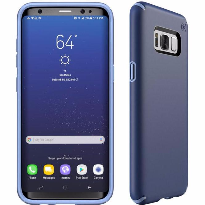 Place to buy clean and elegant design from Speck Presidio Slim Impactium Case For Galaxy S8 - Marine Blue. Authorized distributor offer free shipping Australia wide. Australia Stock