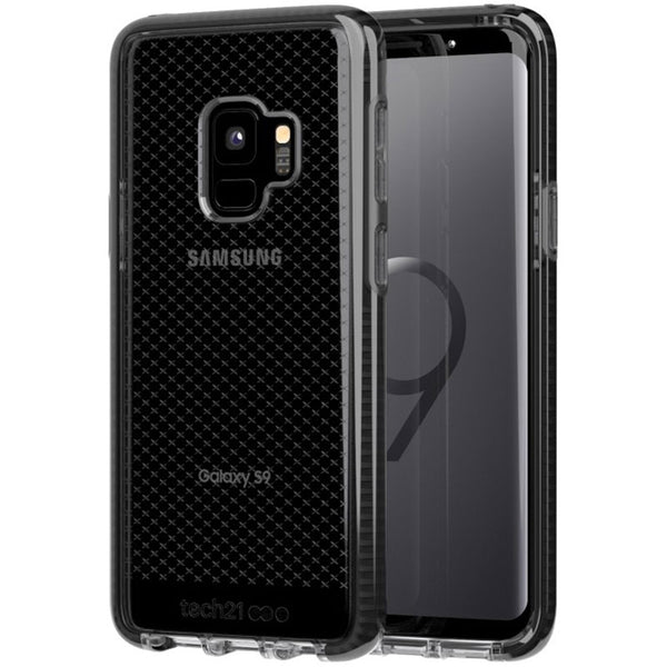 Tech21 Evo Check Flexshock Case For Galaxy S9 Smokey/Black