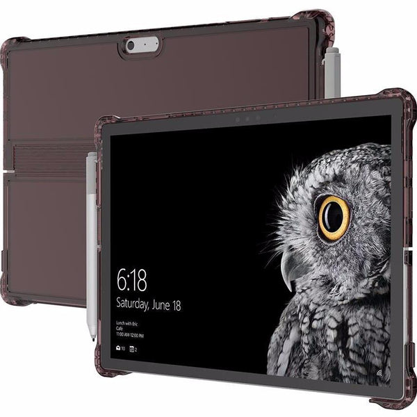 INCIPIO OCTANE PURE TRANSPARENT CO-MOLDED FOLIO CASE FOR SURFACE PRO (2017) /PRO 4 - BURGUNDY
