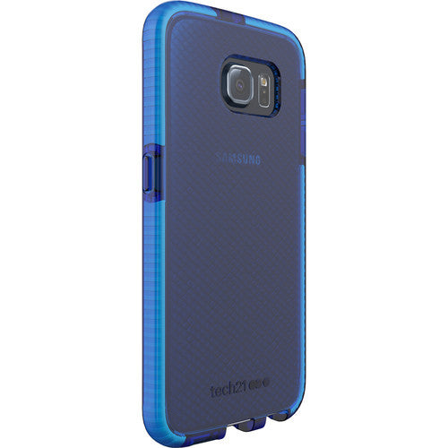 Tech21 Evo Check Case for Galaxy S6 - Blue/White Australia Stock