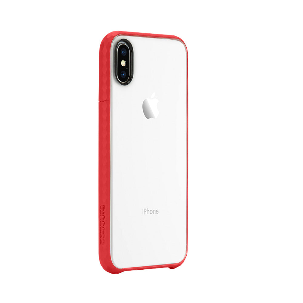 Increase your style with beautiful Color and transparent see through Incase Pop Tensaerlite Case For Iphone X - Clear Red. Authorized distributor offer free express shipping Australia wide from trusted official online store Syntricate. Australia Stock
