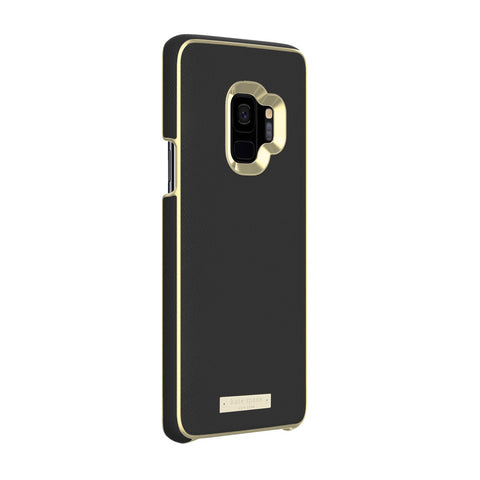 Shop Australia stock KATE SPADE NEW YORK WRAP INLAY CASE FOR GALAXY S9 - SAFFIANO BLACK/GOLD LOGO PLATE with free shipping online. Shop Kate Spade New York collections with afterpay