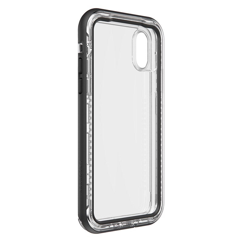 back side view of next series black clear case Australia Stock