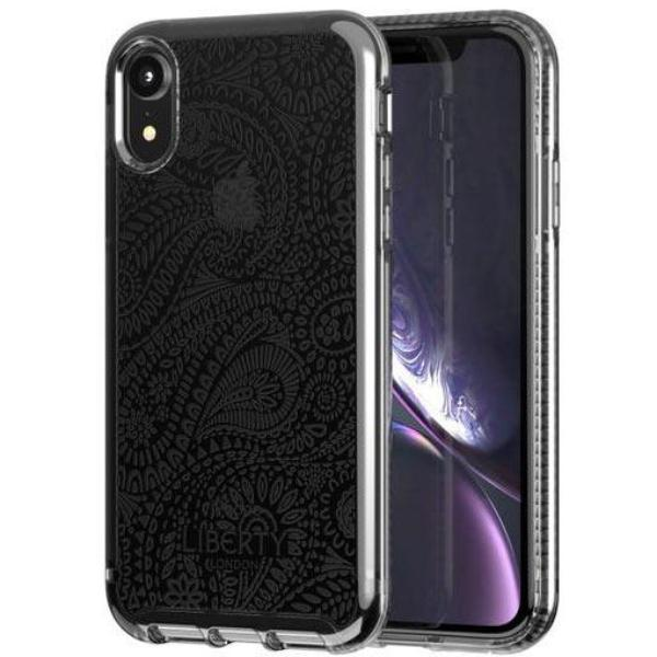 get the latest stock iphone xr design case liberty arundel pattern smoke grey colour. grab it fast at syntricate with free shipping australia wide.