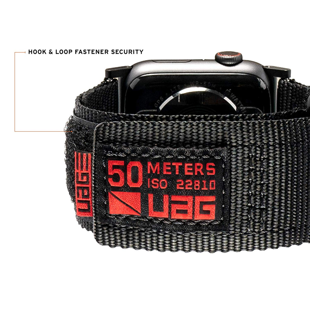 Shop Australia stock UAG ACTIVE WATCH STRAP FOR APPLE WATCH 40 MM/38 MM - BLACK with free shipping online. Shop UAG collections with afterpay Australia Stock