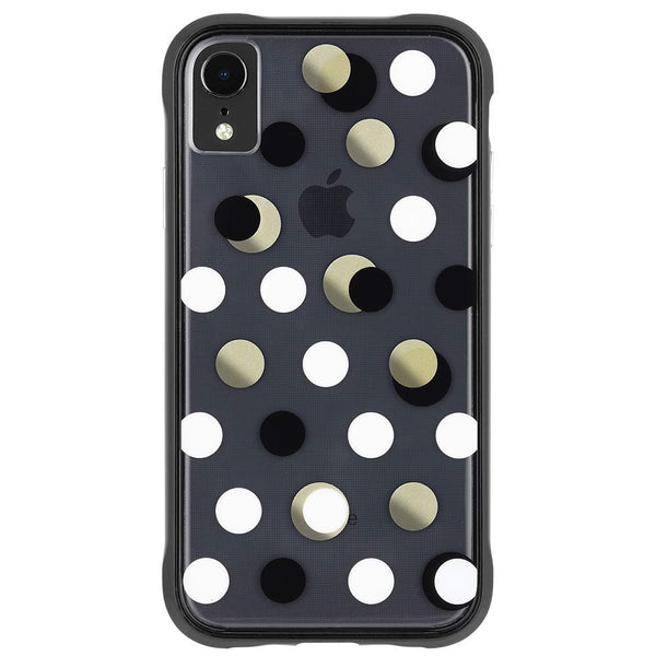 Place to buy WALLPAPER STREET CASE FOR IPHONE XR - METALLIC DOTS from CASEMATE online in Australia free shipping & afterpay.