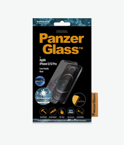 "Buy new iPhone 12 Pro/12 (6.1"") PANZERGLASS Anti-Bluelight Tempered Glass Screen Protector Online local Australia stock."