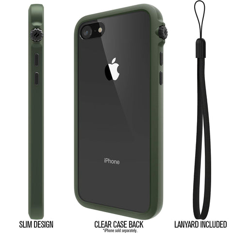 Shop Australia stock IMPACT PROTECTION CASE FOR IPHONE 8/7 - ARMY GREEN from CATALYST with free shipping online. Shop CATALYST collections with afterpay.
