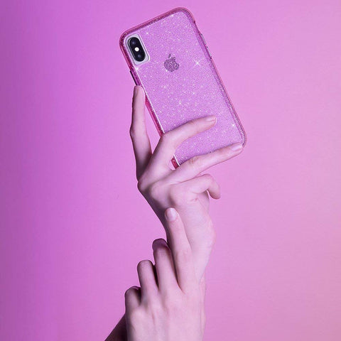 Place to buy SHEER CRYSTAL PROTECTIVE CASE FOR IPHONE XS MAX - BLUSH FROM CASEMATE online in Australia free shipping & afterpay.
