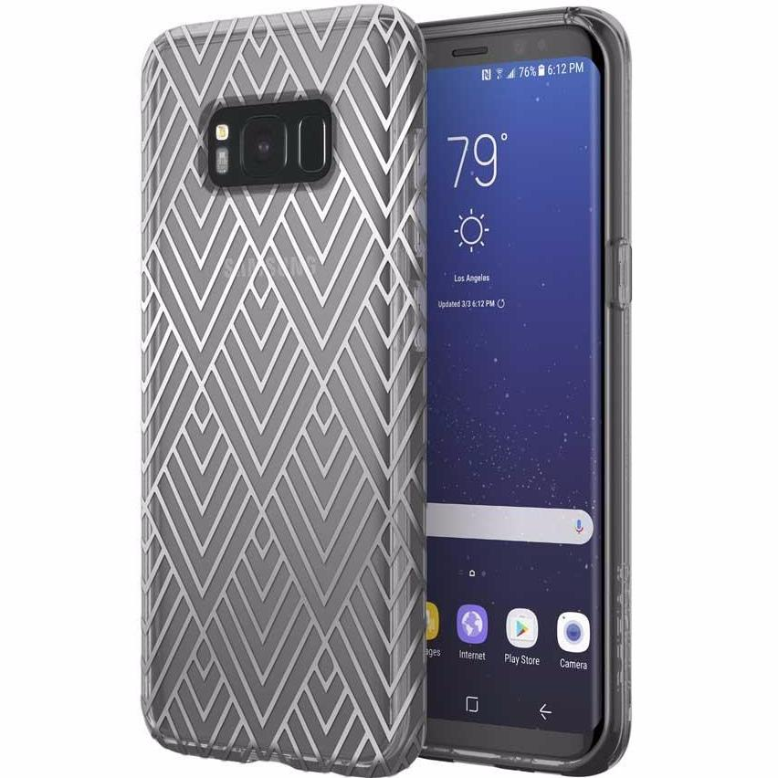 Genuine and authentic products from Incipio Design Series Classic Case For Galaxy S8+ (6.2 Inch) - Silver Prism. Free express shipping Australia wide from authorized distributor and trusted official online store Syntricate. Australia Stock