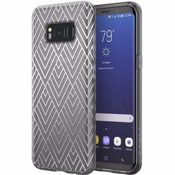 Genuine and authentic products from Incipio Design Series Classic Case For Galaxy S8+ (6.2 Inch) - Silver Prism. Free express shipping Australia wide from authorized distributor and trusted official online store Syntricate.