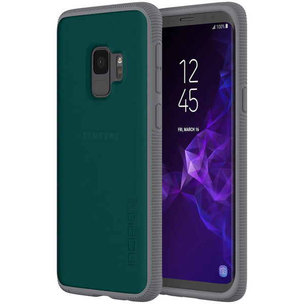 INCIPIO OCTANE SHOCK-ABSORBING CO-MOLDED CASE FOR GALAXY S9 - GREEN/GRAY