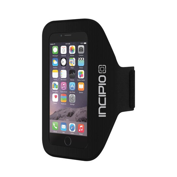 place to buy Incipio PERFORMANCE Slim Armband for iPhone 8/7/6s/6- Black australia