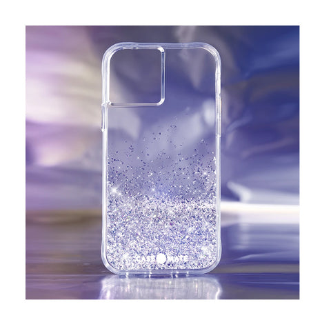 shakeable pattern glitter case from casemate for iphone 12 mini. Amazing design with amazing protection