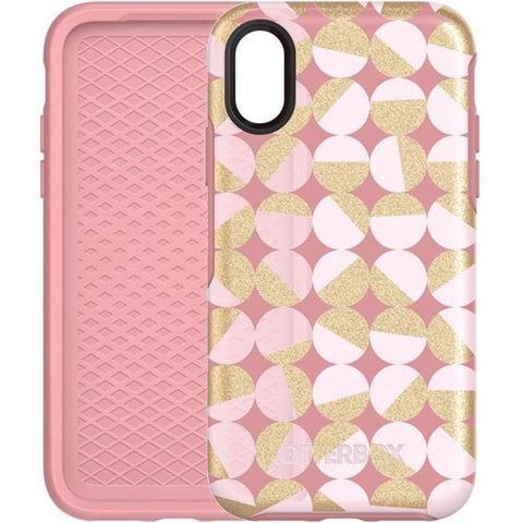 store to buy online cute case Otterbox Symmetry Graphics Stylish Case For Iphone X - Pale Beige/Blush