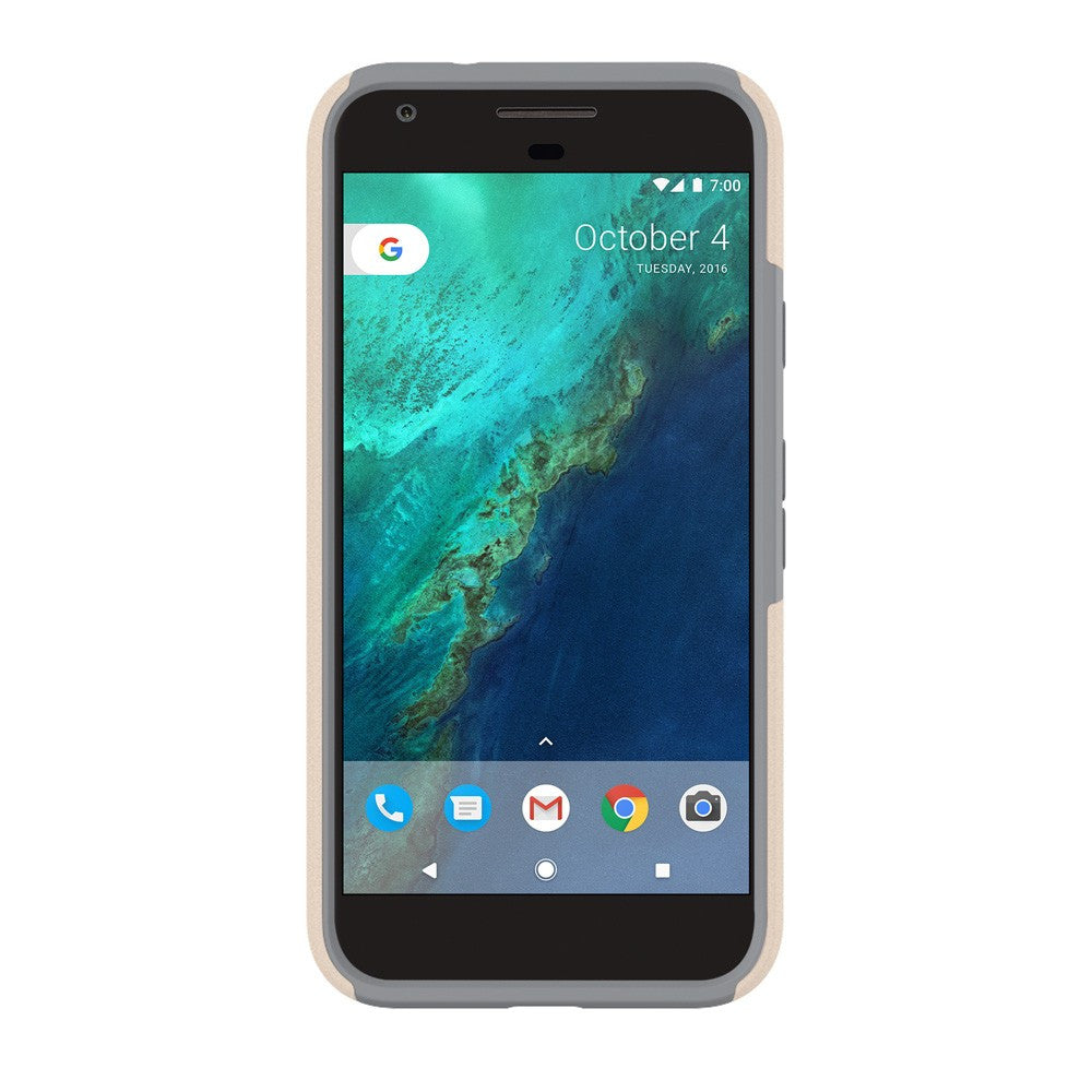 Place to shop and buy Incipio DualPro Case for Google Pixel - Champagne/Gray | Free Express Shipping Australia Wide on Syntricate. Australia Stock