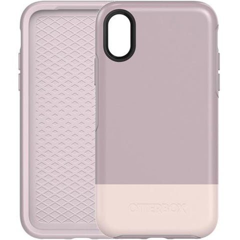 the one and only place to buy Otterbox Symmetry Graphics Stylish Case For Iphone X - White/Pale Mauve free shipping australia wide