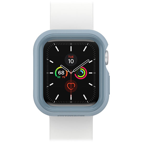 apple watch silicone outdoor blue white colour for apple watch series 6/5/4