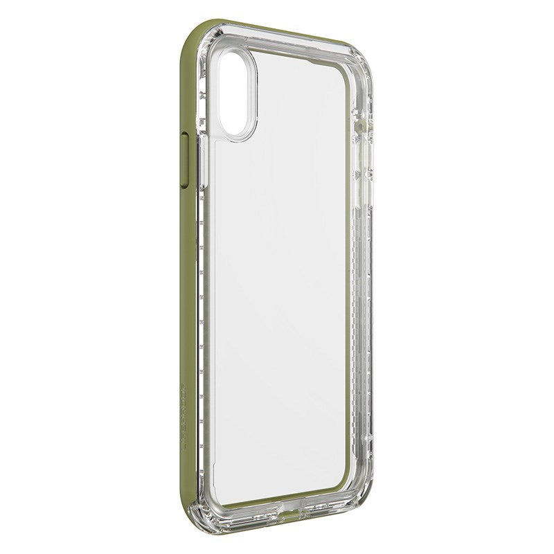 back side view of next series case from lifeproof green colour Australia Stock