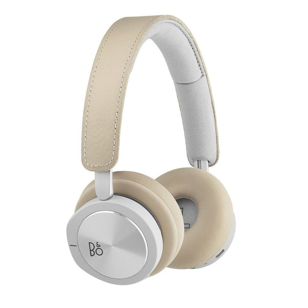 B&O PLAY BY BANG & OLUFSEN BEOPLAY H8i BLUETOOTH ON-EAR HEADPHONES WITH ACTIVE NOISE CANCELLATION - NATURAL Australia Stock
