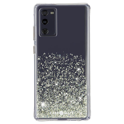Anti backterial case for your Galaxy S20 FE (5G) from CASEMATE Australia. Glittery designer case with drop protection. dual function & germ free
