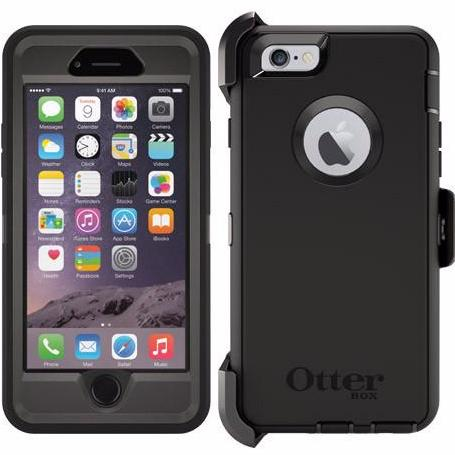 innovative design bb0a2 4923f OtterBox Defender Series case for Apple iPhone 6S/6 - Black