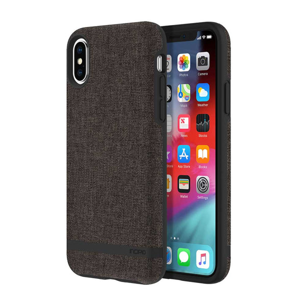 Carnaby Esquire Case For iPhone XS Max Grey Business style fabric case