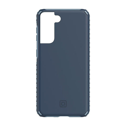 minimalist blue incipio case, 1 piece design with hard solid material for s21 plus
