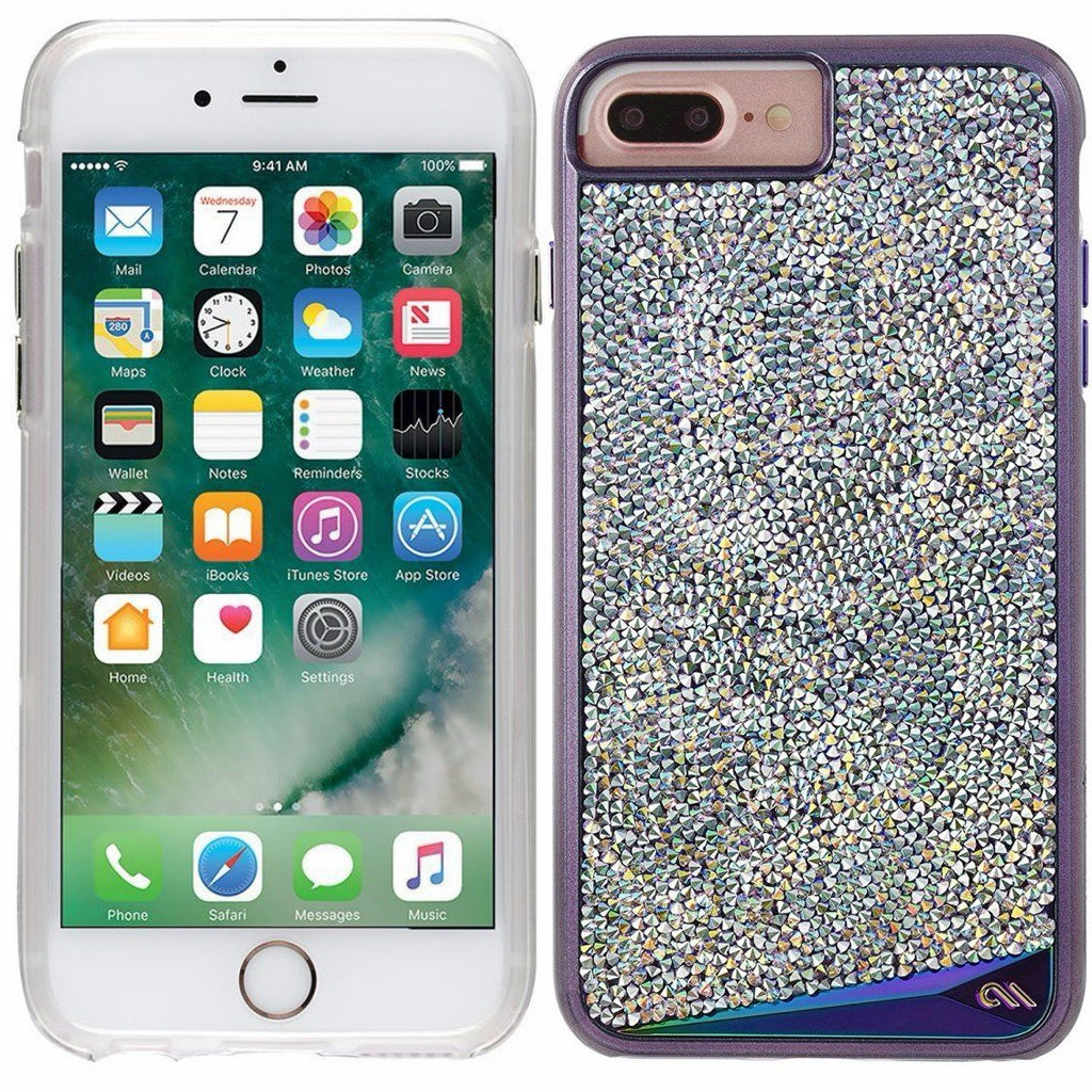 new product d518f 0b7cf CASEMATE BRILLIANCE TOUGH GENUINE CRYSTAL CASE FOR iPHONE 8 PLUS/7 PLUS  -IRIDESCENT