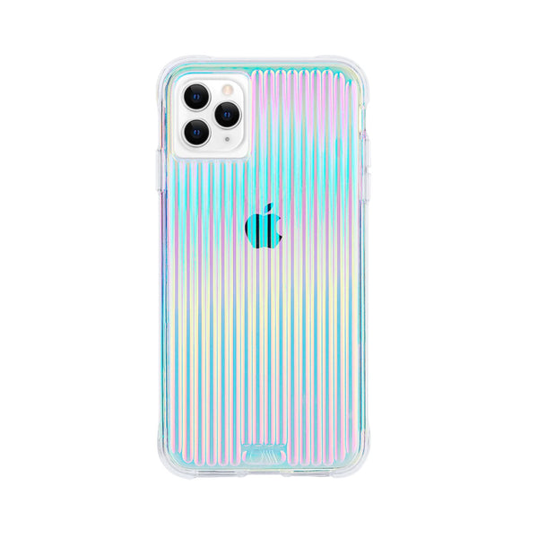 Iridescent rainbow case for your iphone 12 mini. Stay fancy, protected with drop protection plus only with casemate. Free shipping online