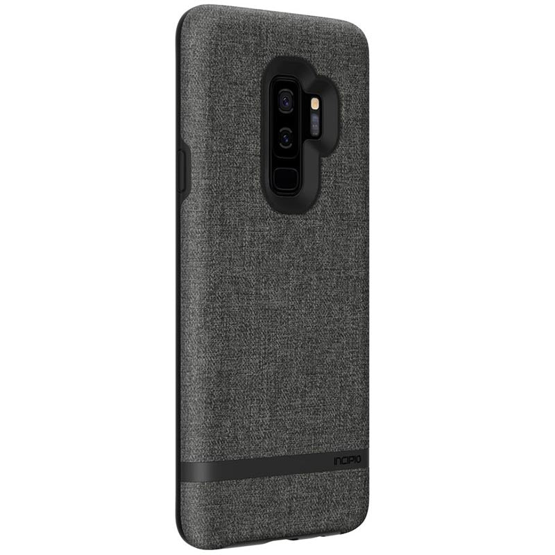 INCIPIO CARNABY ESQUIRE FABRIC FINISH RUGGED CASE FOR GALAXY S9 PLUS - GRAY Australia Stock